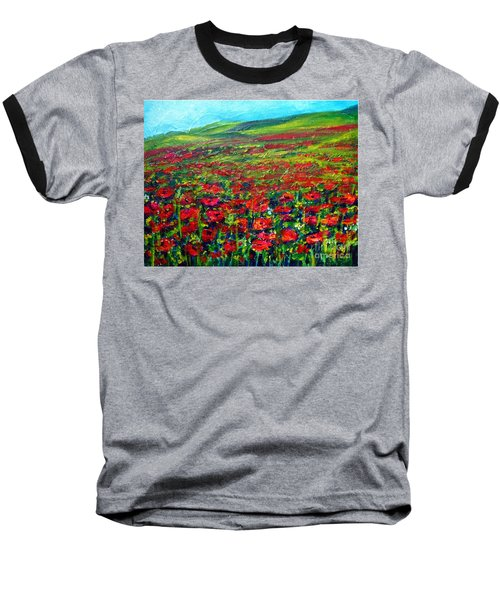 The Poppy Fields Baseball T-Shirt