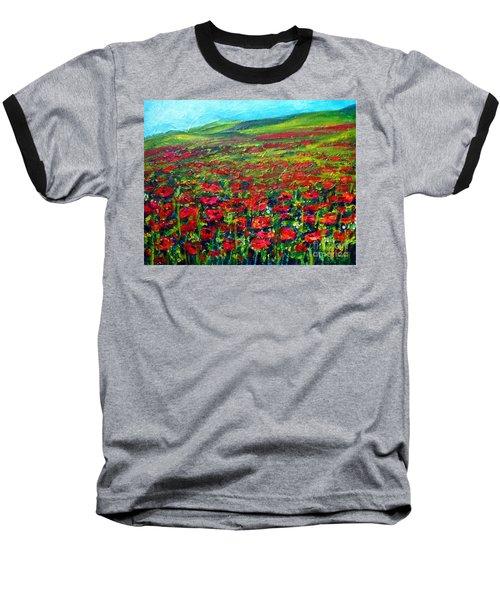 The Poppy Fields Baseball T-Shirt
