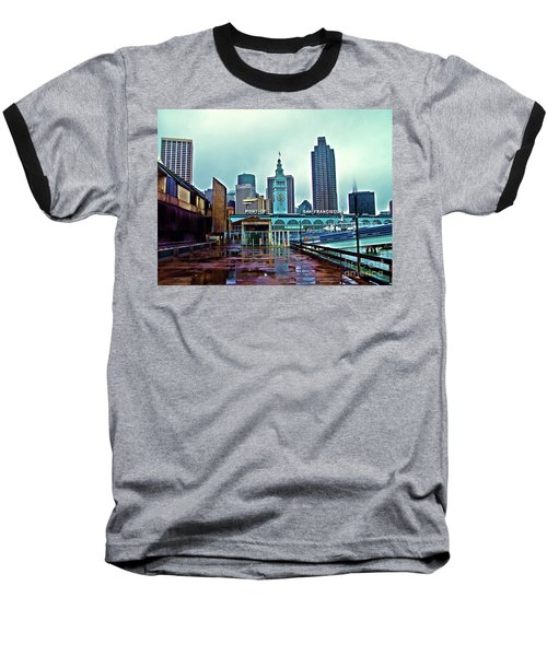 The Port Of San Francisco Baseball T-Shirt