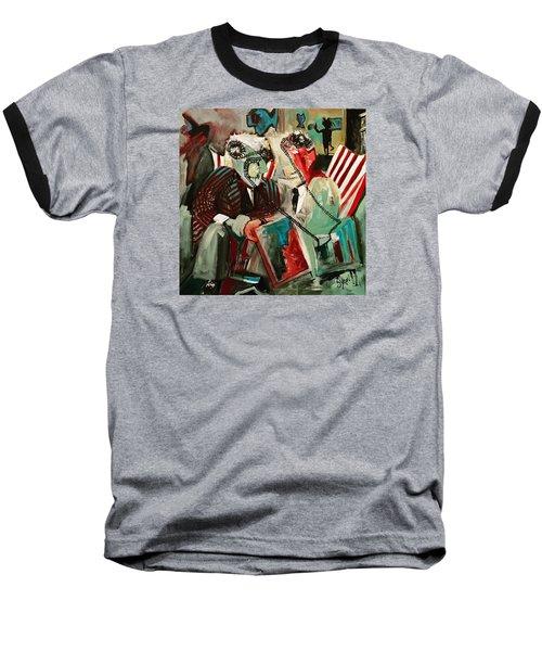 The Portal Baseball T-Shirt by Helen Syron