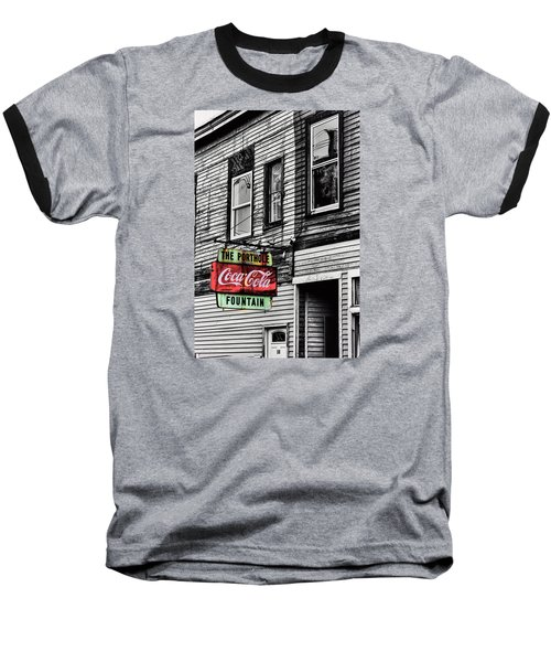 The Porthole Portland Maine Baseball T-Shirt by Tom Prendergast