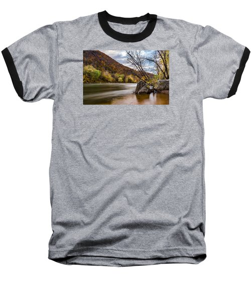 The Shenandoah In Autumn Baseball T-Shirt