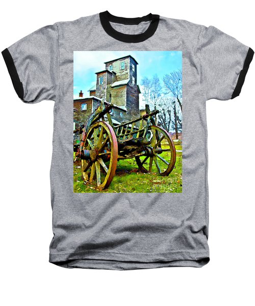 Baseball T-Shirt featuring the photograph The Pottery - Bennington, Vt by Tom Cameron
