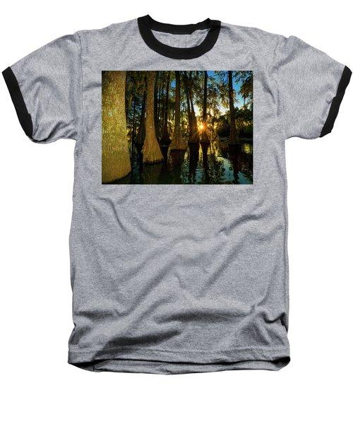 The Pow Wa Of The Light Baseball T-Shirt by Kimo Fernandez