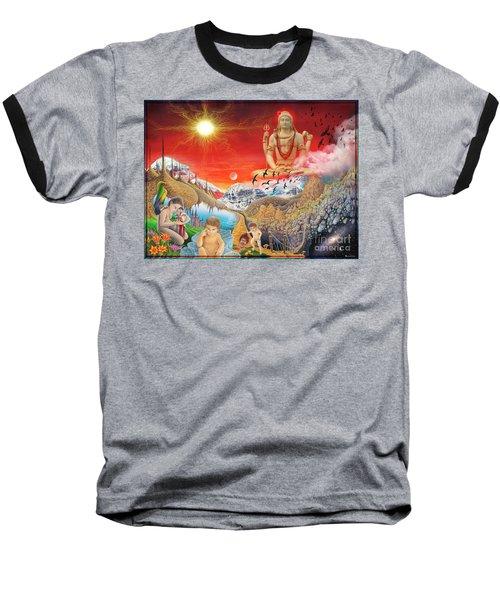 The Power Of Different Gods Baseball T-Shirt