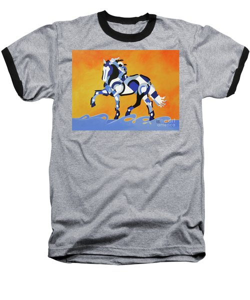 The Power Of Equus Baseball T-Shirt