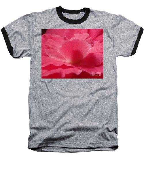 The Power Of Pink Baseball T-Shirt by Christina Verdgeline