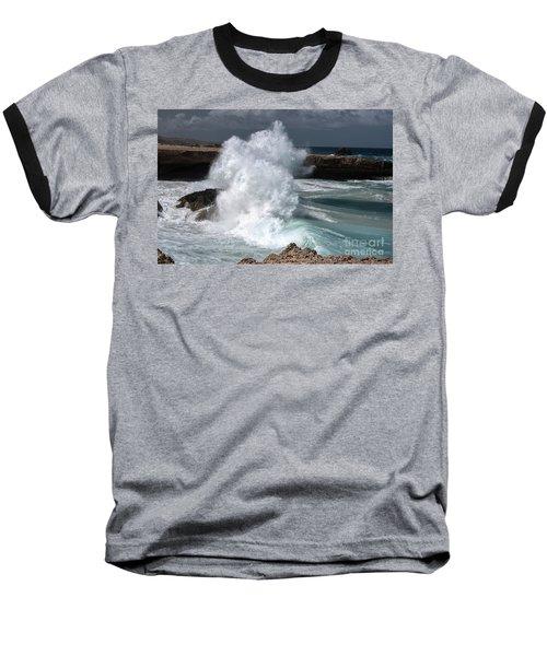 The Power Of The Sea Baseball T-Shirt