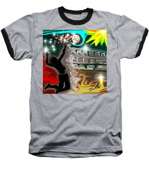 The Power Of Volleyball Baseball T-Shirt