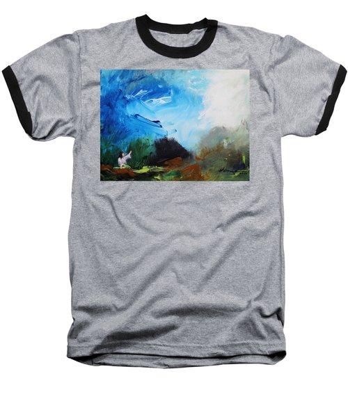The Prayer In The Garden Baseball T-Shirt by Kume Bryant