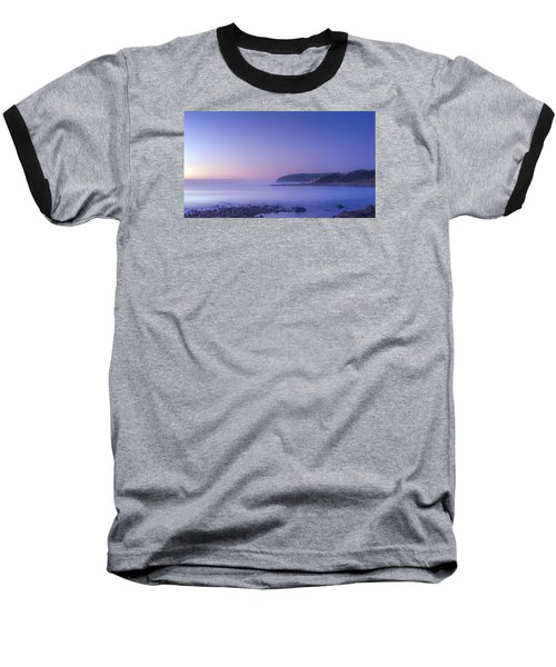 The Predawn Mist Baseball T-Shirt