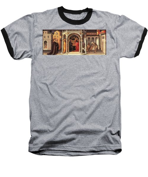 The Presentation In The Temple Baseball T-Shirt by MotionAge Designs