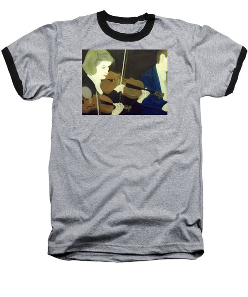 The Prettiest Violinist In The Orchestra Baseball T-Shirt