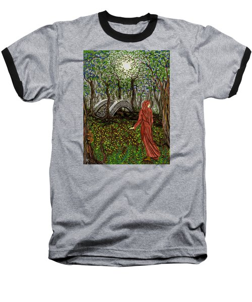 The Priestess Of Ealon Baseball T-Shirt by FT McKinstry
