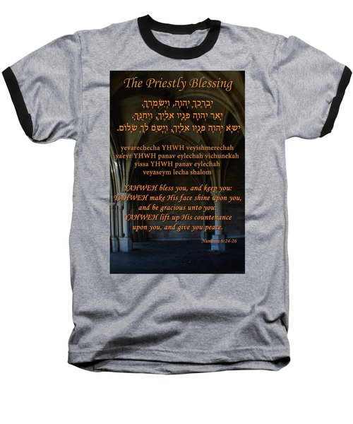The Priestly Aaronic Blessing Baseball T-Shirt