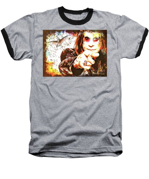 The Prince Of Darkness Baseball T-Shirt
