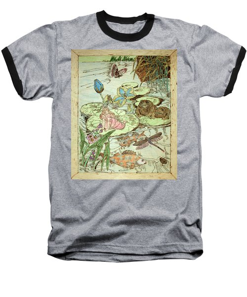 The Princess And The Frogs Baseball T-Shirt