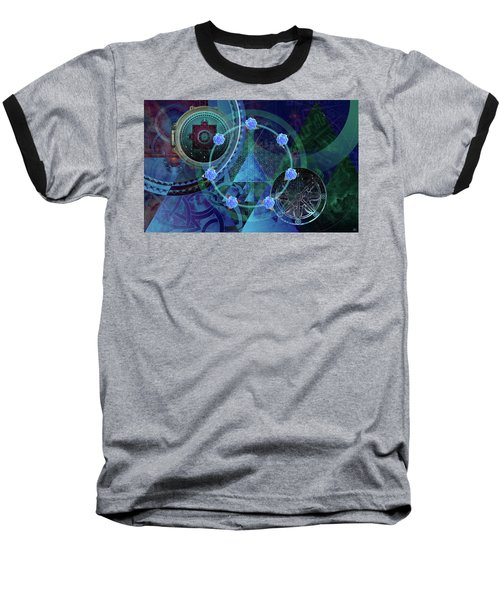 The Prism Of Time Baseball T-Shirt