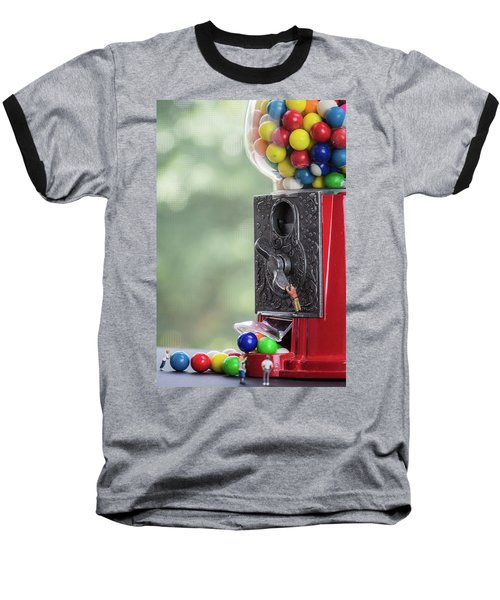 The Problem With Gumball Machines Baseball T-Shirt