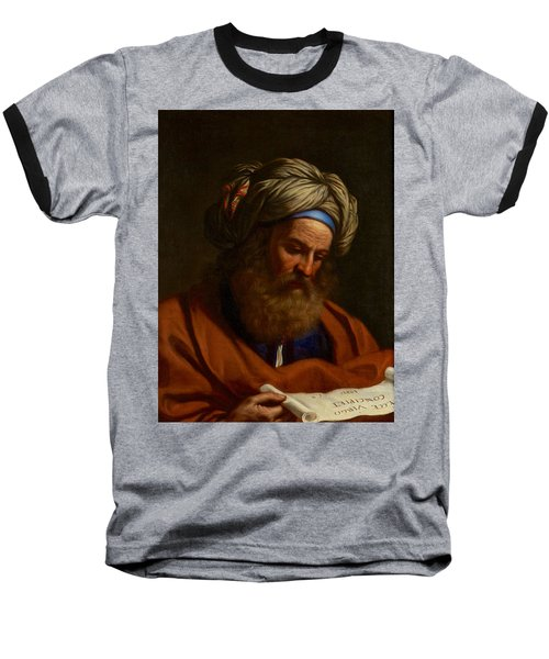 The Prophet Isaiah Baseball T-Shirt