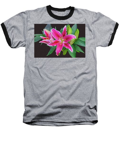 The Pulchritude Of Lady Lily Baseball T-Shirt
