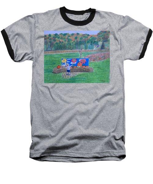 The Pumpkin Patch  Baseball T-Shirt
