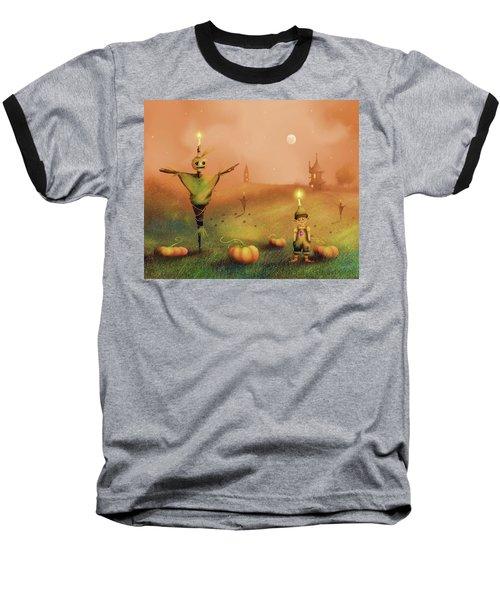 The Pumpkin Thief Baseball T-Shirt