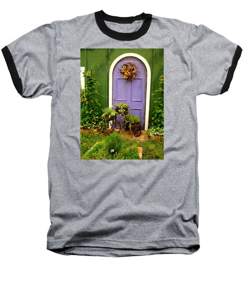 The Purple Door Baseball T-Shirt