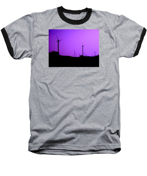 The Purple Expanse Baseball T-Shirt