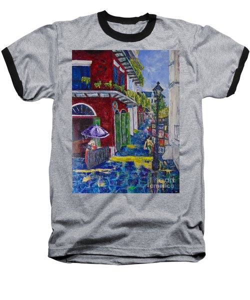 The Purple Umbrella        Pirates Alley Baseball T-Shirt