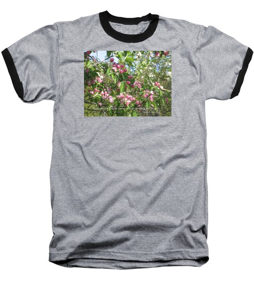 The Quality Of Your Thoughts Baseball T-Shirt by Deborah Dendler