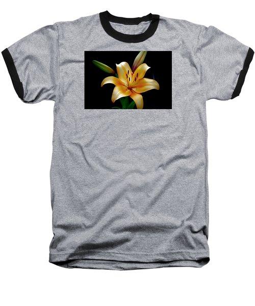 The Queen Lily Baseball T-Shirt by Karen McKenzie McAdoo