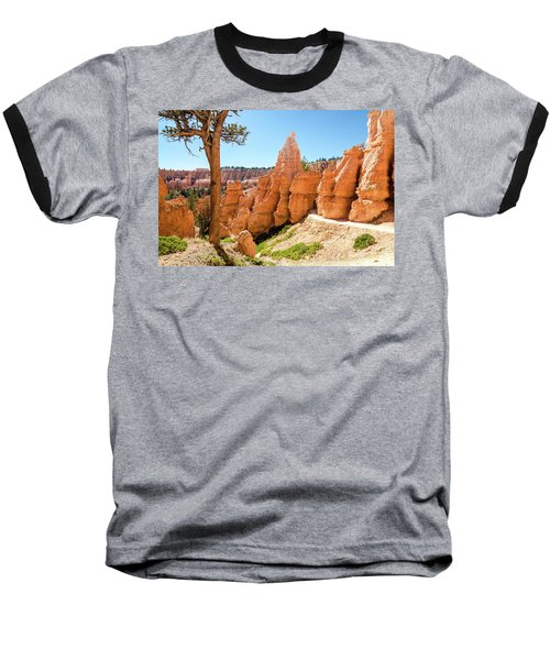 Baseball T-Shirt featuring the photograph The Queens Garden Trail by Margaret Pitcher