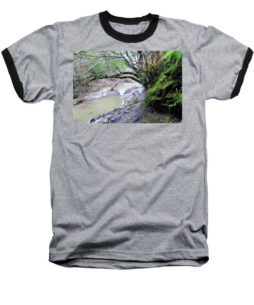 The Quiet Places Baseball T-Shirt by Donna Blackhall
