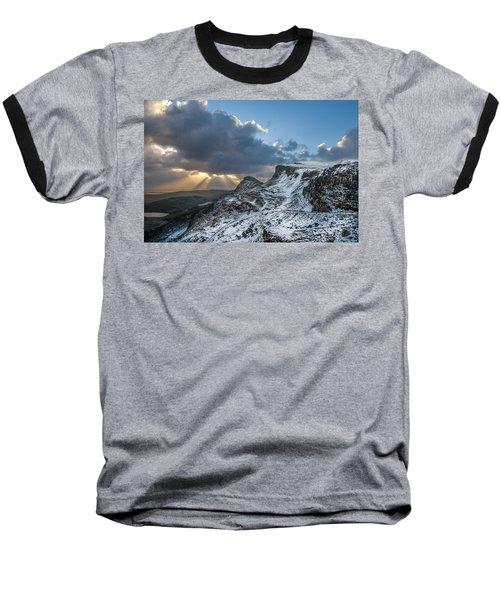 The Quiraing Just After Dawn Baseball T-Shirt
