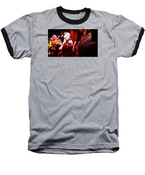 Baseball T-Shirt featuring the photograph The Radiant Musicians by Cameron Wood