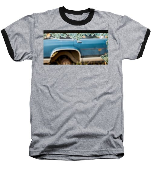 Baseball T-Shirt featuring the photograph The Ragged Edge by Fran Riley
