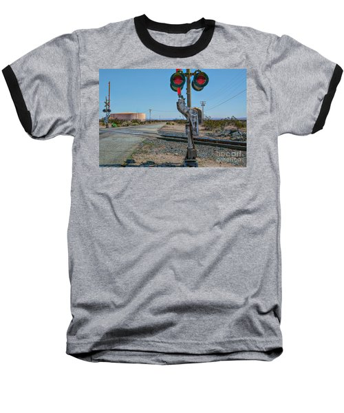 The Railway Crossing Baseball T-Shirt