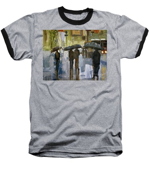 The Rain Came Baseball T-Shirt