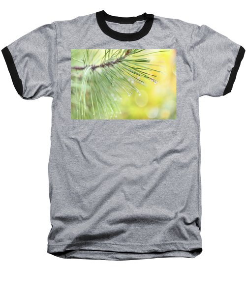 Baseball T-Shirt featuring the photograph The Rain The Park And Other Things by John Poon