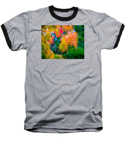 Baseball T-Shirt featuring the photograph The Rainy Bunch by Ken Stanback