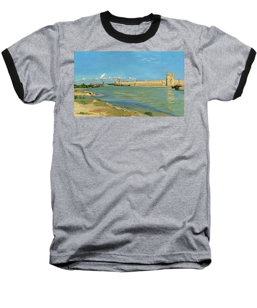 The Ramparts At Aigues Mortes Baseball T-Shirt