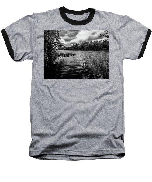 The Rancocas River Landscape Baseball T-Shirt
