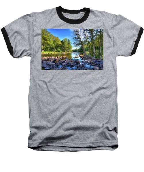 The Raquette River Baseball T-Shirt by David Patterson