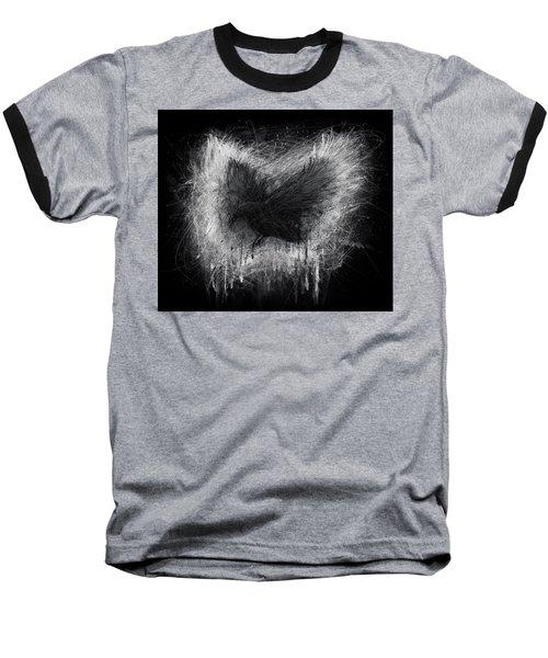 The Raven - Black Edition Baseball T-Shirt