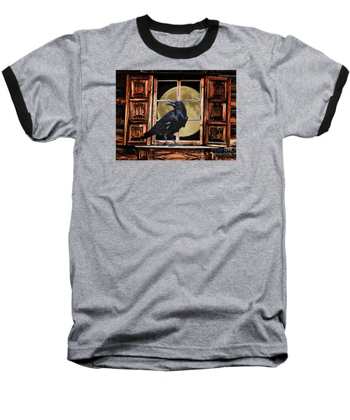 The Raven Baseball T-Shirt by Suzanne Handel