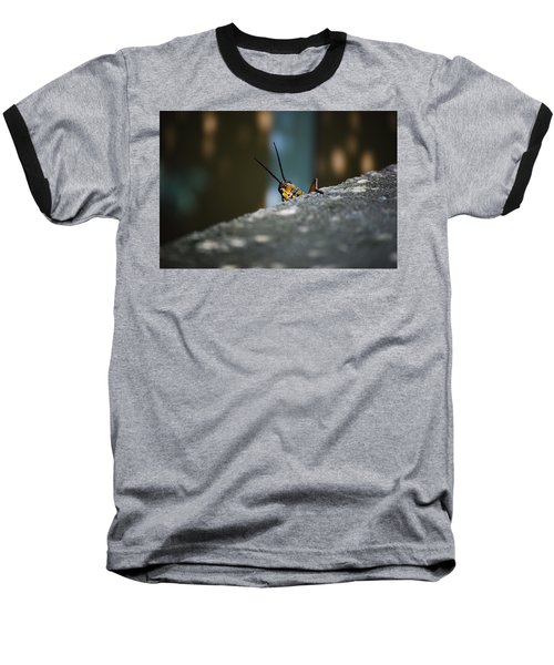 The Real Hopper Baseball T-Shirt