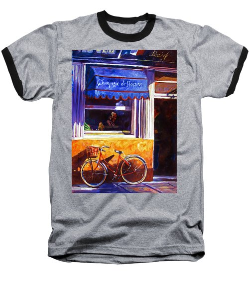 The Red Bicycle Baseball T-Shirt