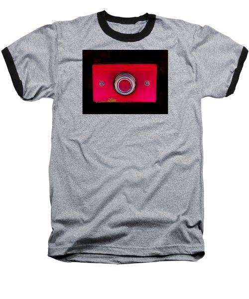 The Red Button Baseball T-Shirt