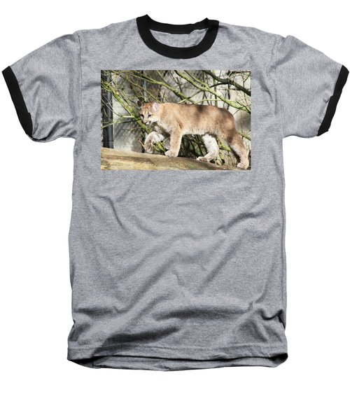 Baseball T-Shirt featuring the photograph The Red Carpet by Laddie Halupa